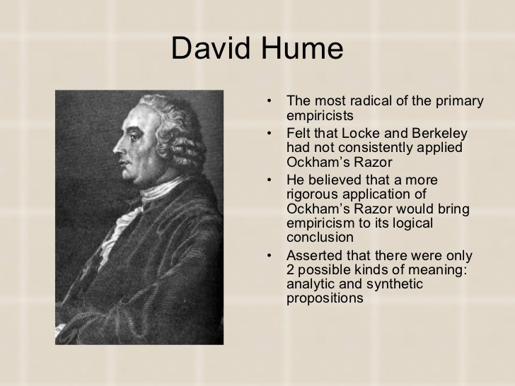 a comparison of human understanding by rene descartes and david hume Descartes more especially in physics, hume more in morality and the human sciences in effect, this involved them both review of descartes and hume.