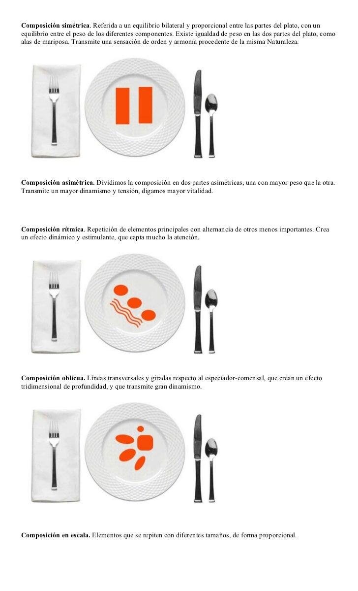 Emplatado y presentaci n de platos for Cocina tradicional definicion