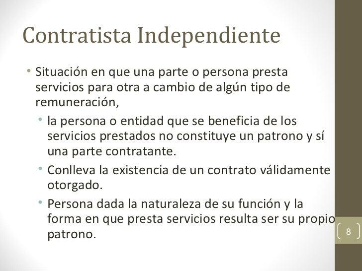 Empleado vs contratista independiente - Que es un contratista ...