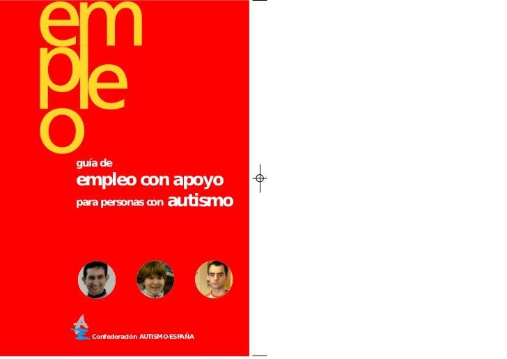 guía deempleo con apoyopara personas con autismo   Confederación AUTISMO-ESPAÑA