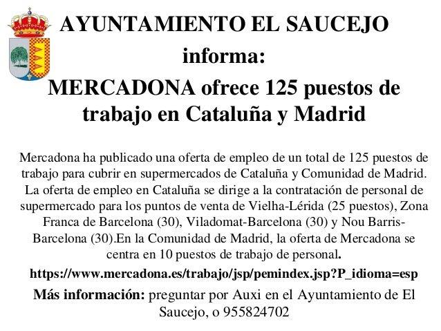 Ofertas de empleo en espa a y en el extranjero y algunas becas - Ofertas de trabajo en madrid ...