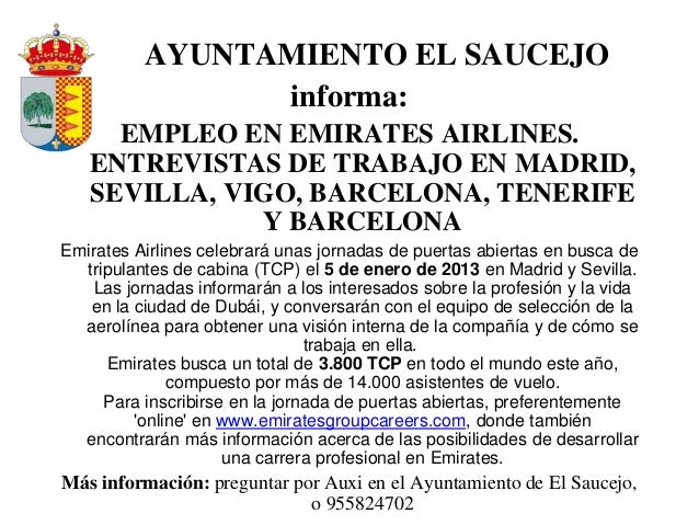 Ofertas de empleo en espa a y en el extranjero y algunas becas for Trabajo de interna en barcelona