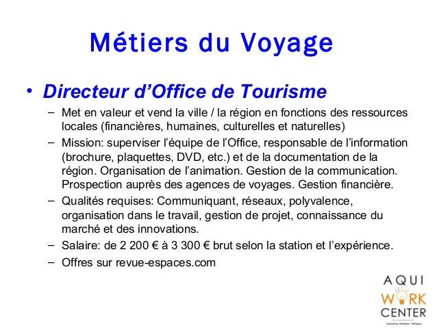 Offre d emploi directeur d'office de tourisme