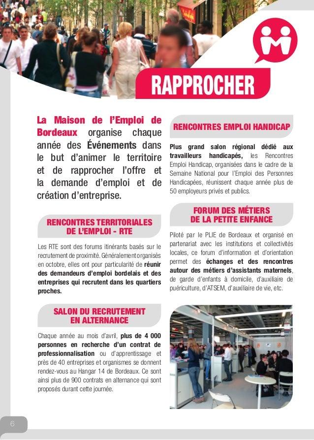 Livret de pr sentation 2014 d 39 emploi bordeaux - Salon emploi bordeaux ...