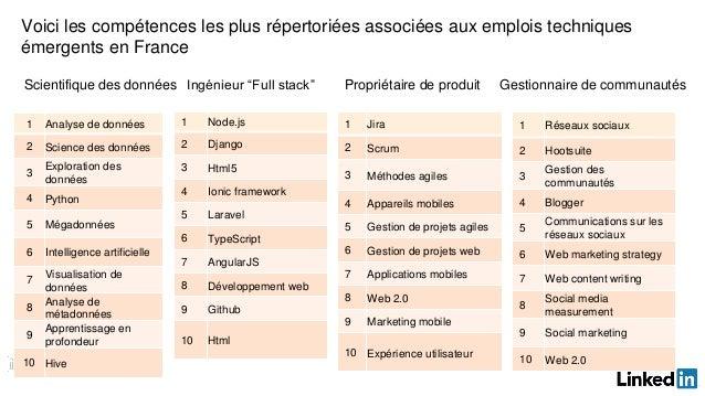 rapport sur les emplois et comp u00e9tences en france