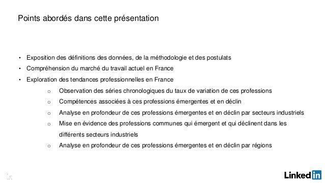 Rapport sur les emplois et compétences en France Slide 2
