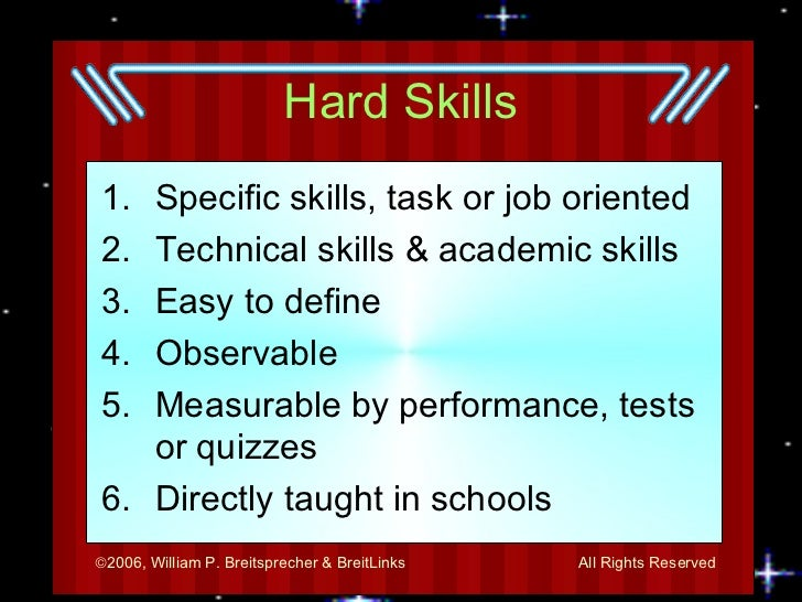 Employability Skills Slide 3