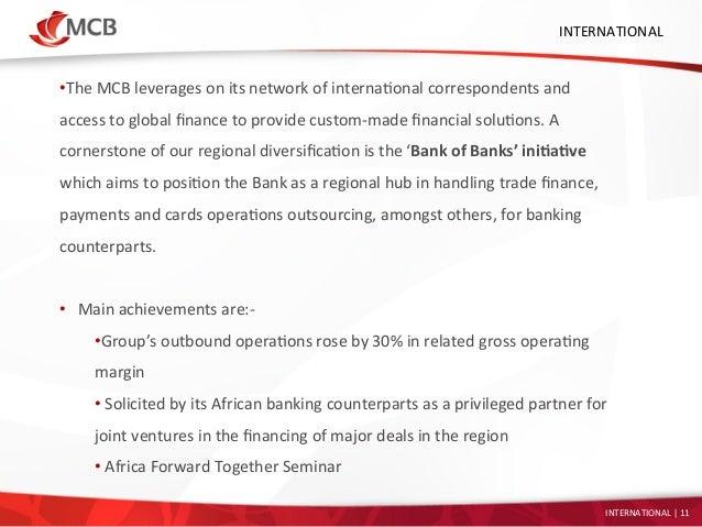 Mcb bank forex