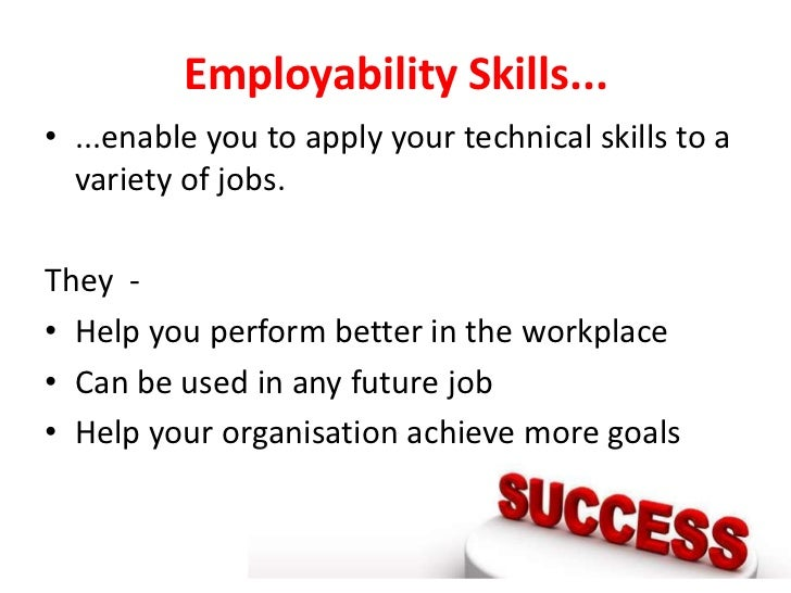 Employability skills Slide 2