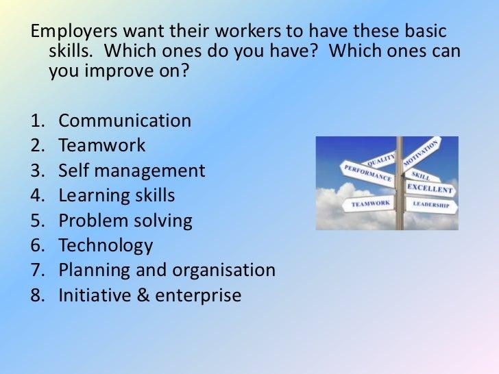 skills employers want