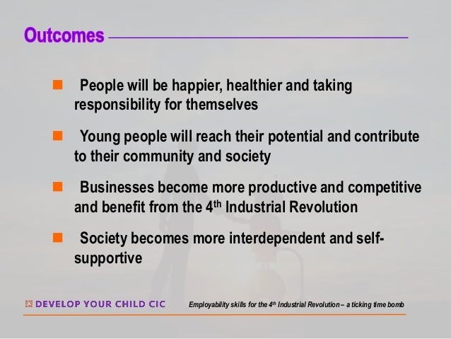 n People will be happier, healthier and taking responsibility for themselves n Young people will reach their potential and...