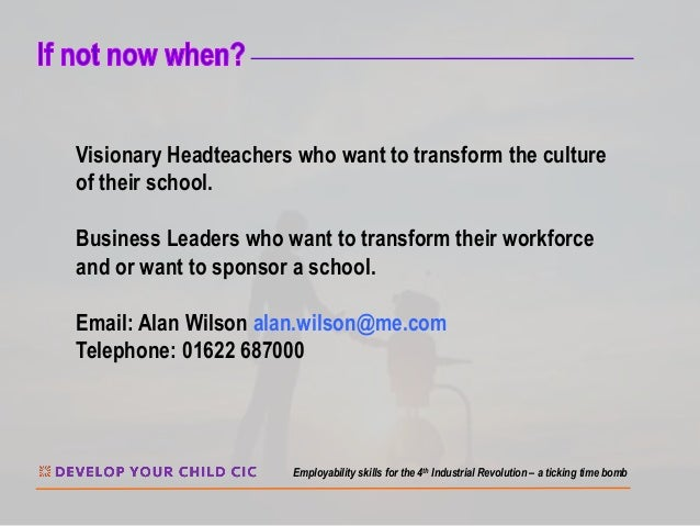 Visionary Headteachers who want to transform the culture of their school. Business Leaders who want to transform their wor...