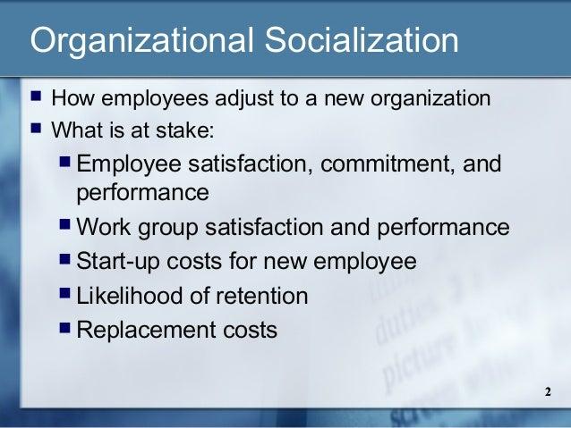 Employee socialization & orientation Slide 2