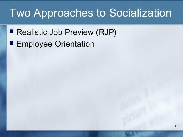 Employee socialization & orientation Slide 3