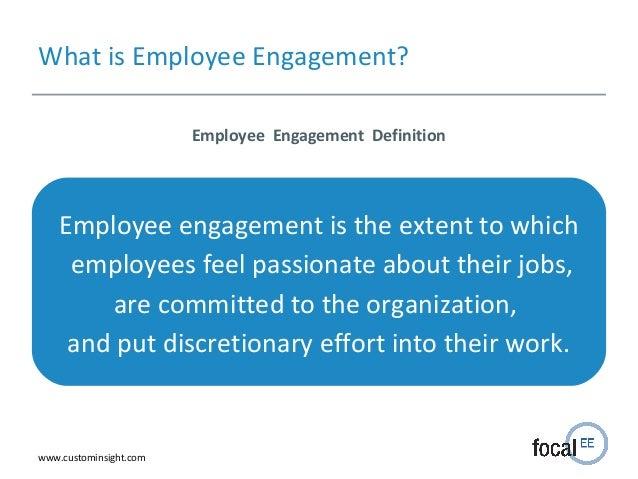 Employee engagement-presentation
