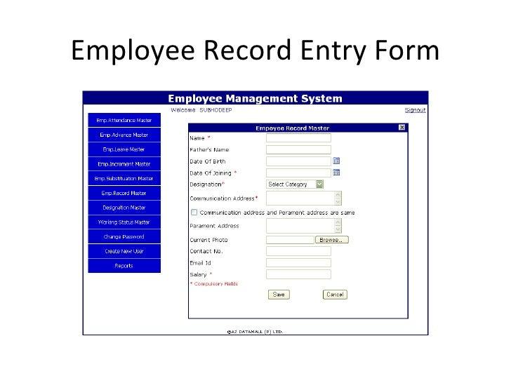 Employee Management System By Az Datamall