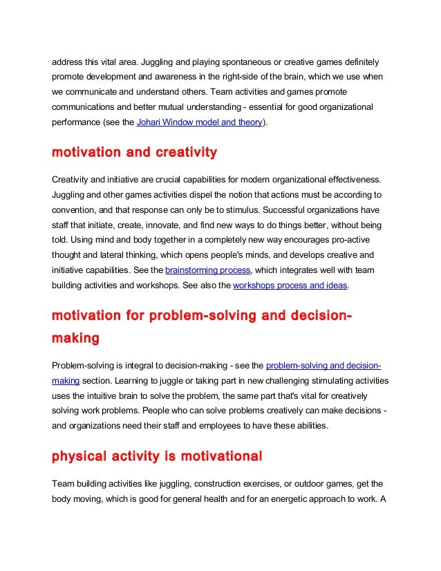 the different theories for motivating an employee The significance of employee motivation as the panacea of  incentives more  than other motivators – incorporate the death wish since social.