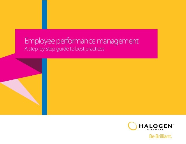 Employee performance management  A step-by-step guide to best practices