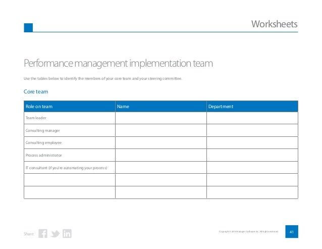 Employee Performance Management: A step-by-step guide to ...