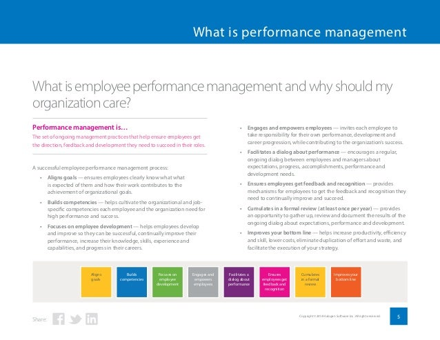 performance management of employees pdf