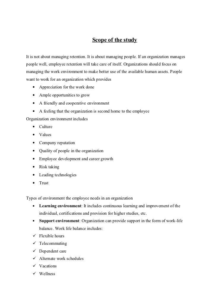 thesis on employee retention pdf