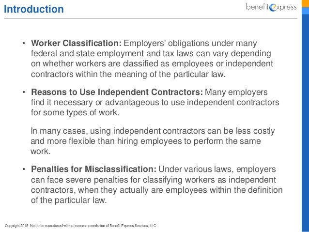 Employee Vs Independent Contractor  How To Differentiate And Avoid