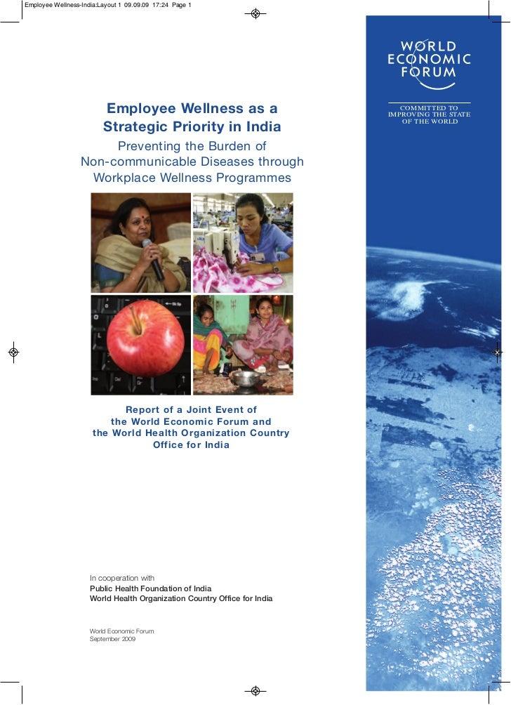 Employee Wellness-India:Layout 1 09.09.09 17:24 Page 1                         Employee Wellness as a                     ...