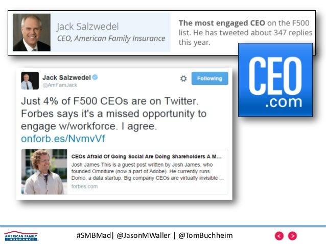 #SMBMad| @JasonMWaller | @TomBuchheim Trust