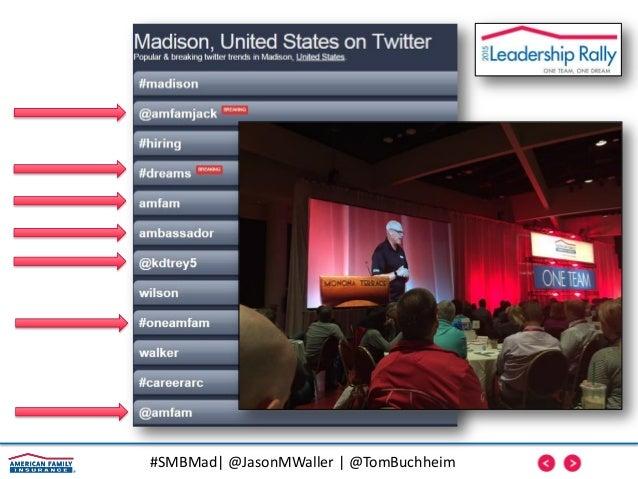 #SMBMad| @JasonMWaller | @TomBuchheim Encourage Freedom