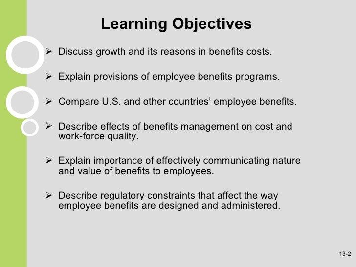 Employee Benefits Slide 2