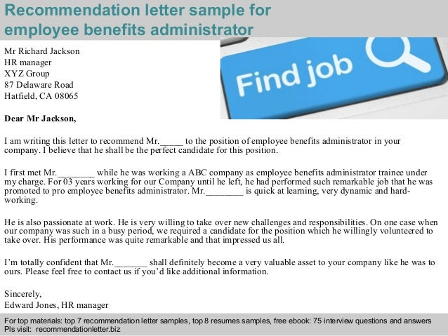 how to write a reference letter for employee