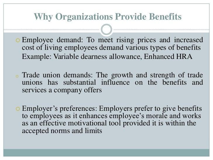 employee benefit package sample