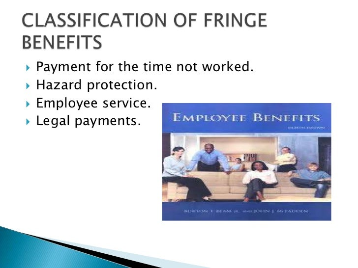    Payment for the time not worked.   Hazard protection.   Employee service.   Legal payments.