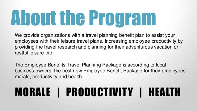 vacation planner for employees