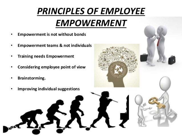 the importance of employee empowerment in an organization The impact of employee empowerment on job satisfaction  theoretical  the impact of employee empowerment  the real importance of employee empowerment and its.