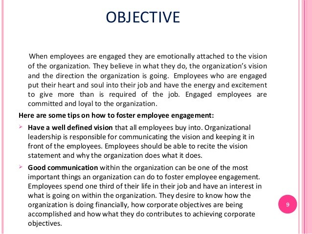 Amazing Employment Objectives Intended Employment Objectives