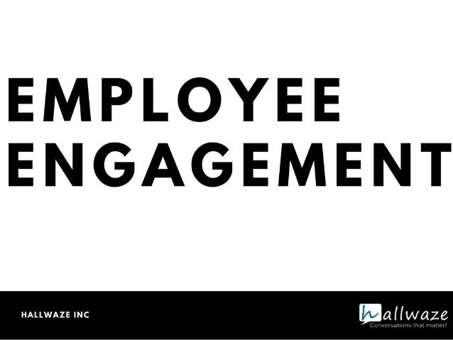 Employee engagement ppt