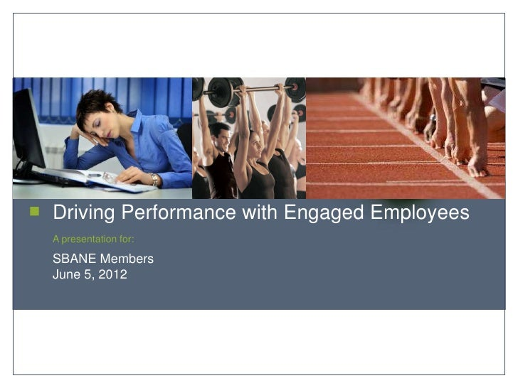 delivering worksite wellness programs that empower healthy lifestylesDriving Performance with Engaged EmployeesA presentat...