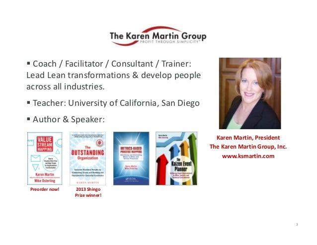  Coach/Facilitator/Consultant/Trainer: LeadLeantransformations&developpeople acrossallindustries.  Teache...