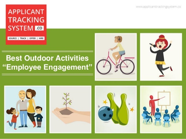"""Best Outdoor Activities """"Employee Engagement"""""""