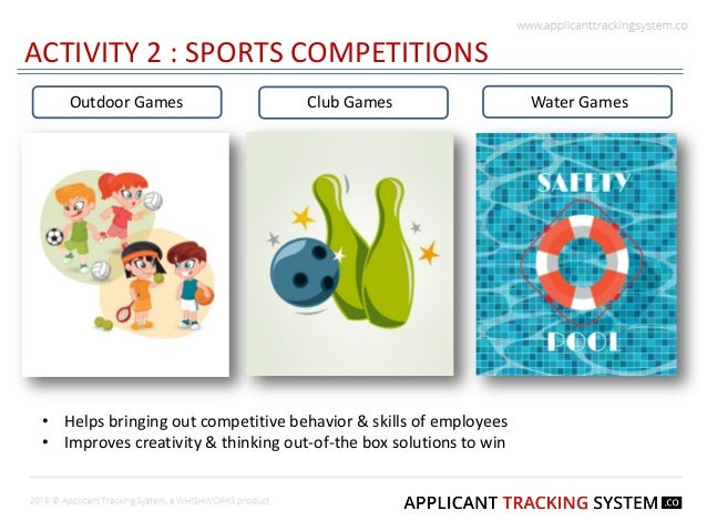 Employee Engagement Best Outdoor Activities Slide 3