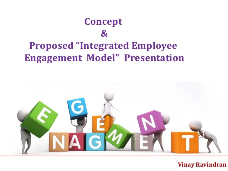 "Vinay Ravindran  Concept  &  Proposed ""Integrated Employee  Engagement  Model""  Presentation"