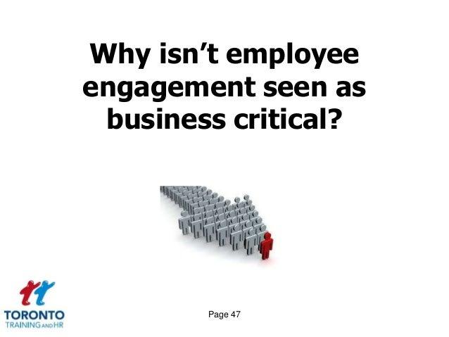 Employee engagement May 2014