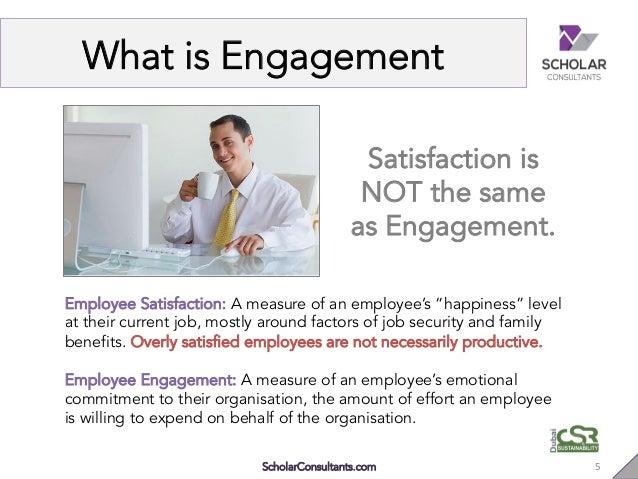 Commitment Vs Involvement: Employee Engagement