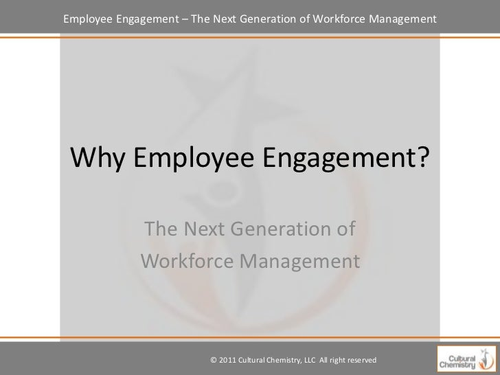 Employee engagement presentation concept for powerpoint.