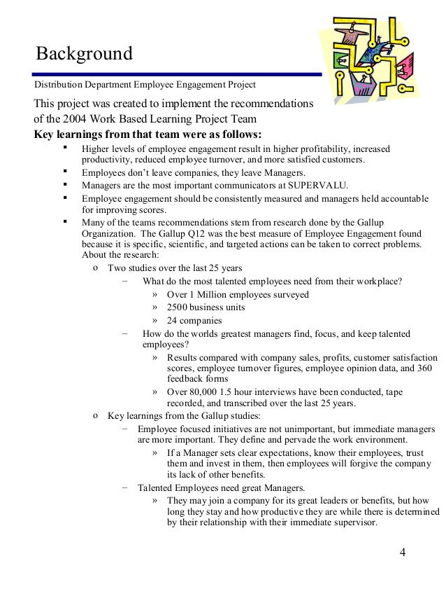 Employee engagement problem statement