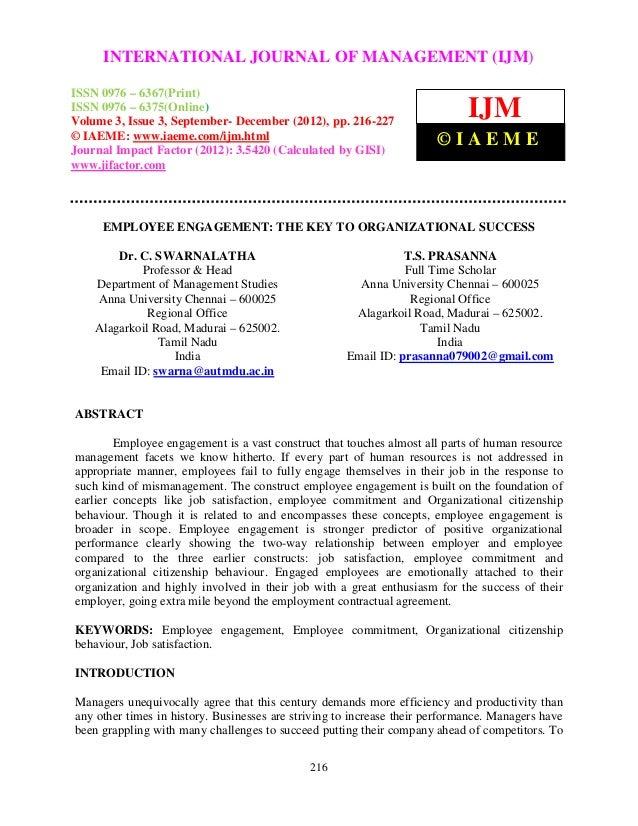 International Journal of Management (IJM), ISSN 0976 – 6502(Print), ISSN 0976 – 6510(Online),     INTERNATIONAL JOURNAL OF...