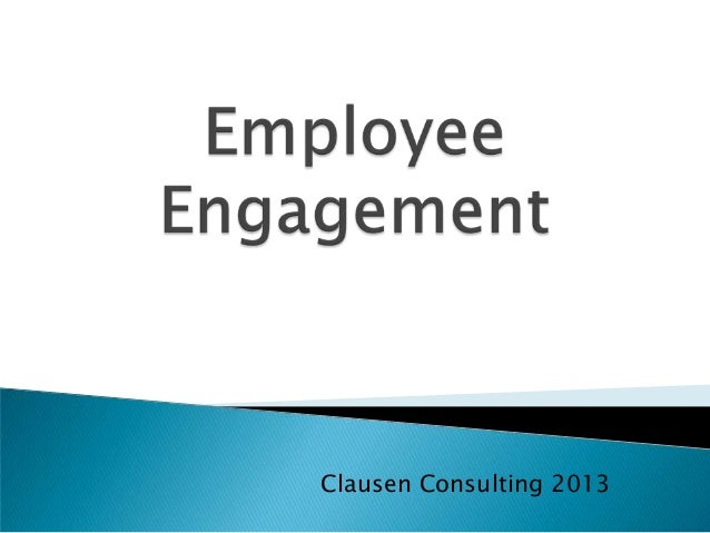 Clausen Consulting 2013