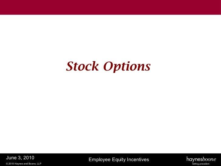 Rule 701 stock options
