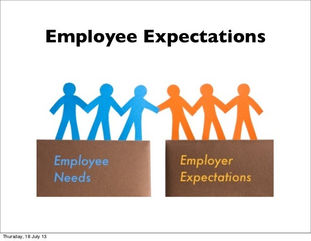 Employee Expectations Thursday, 18 July 13